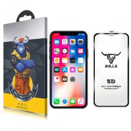 bulls 5d 9h iPhone 11 Pro Max & iPhone XS Max skarmskydd skydda skarm protection screen oleofobisk vattenresistent.