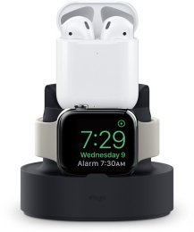Elago Mini Charging Hub, Svart Till AirPods, iPhone och Apple Watch