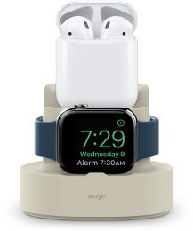 Elago Mini Charging Hub, Vit Till AirPods, iPhone och Apple Watch