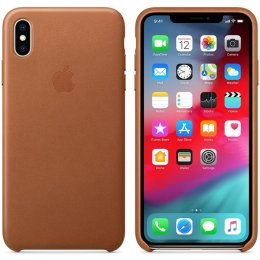 Apple iPhone XS Max läderfodral - Brun