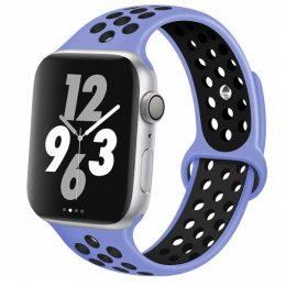 apple watch 42mm armband lila svart royal pulse purple black
