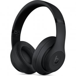 beats studio3 studio 3 wireless tradlos svart matt horlurar headphones over ear