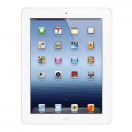 Begagnad Apple iPad 3 (3rd Generation) A1416 Wi-Fi 64GB Vit i bra skick Klass B