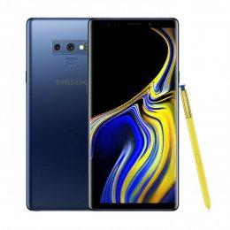 Begagnad Samsung Galaxy note 9 128GB blå i bra skick