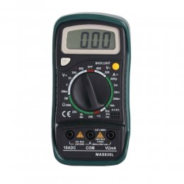 Digital Multimeter Volt Ohm Amp Tester