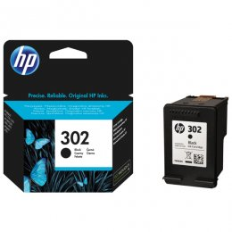 hp ink bläck färg svart 302 colour black printer cartridge