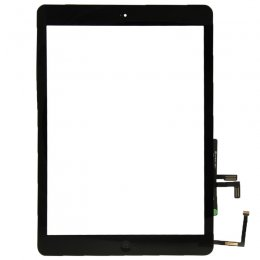 IPad Air Glas & Digitizer med tejp - Svart
