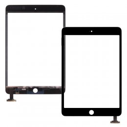 ipad mini 1 2 digitizer glas touch flex display ingen hemknapp