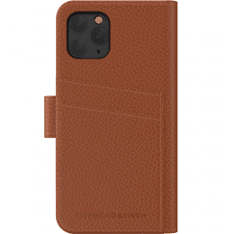 iPhone 11 Pro Max Fodral Richmond Finch wallet planbok brown brun