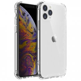 iPhone 11 Pro Max Shockproof Skal TPU Transparent