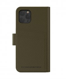iPhone 11 pro fodral Richmond Finch wallet planbok emerald green smaragd grön