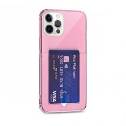 iphone 12 pro tpu skal case shockproof rosa