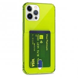 iphone 12 pro tpu skal case shockproof gul fluorescent
