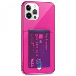 iphone 12 pro tpu skal case shockproof rosa ilrosa klarrosa