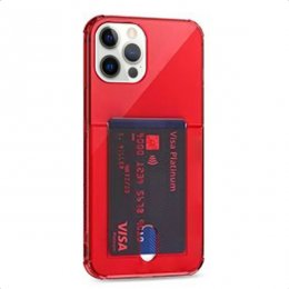 iphone 12 pro tpu skal case shockproof red röd