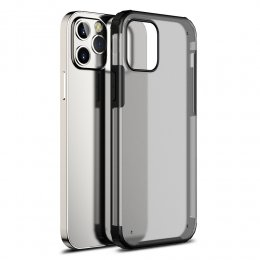 iPhone 12 Pro TPU PC protective skal svart