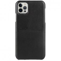 iPhone 12 pro g case pu laderskal brun