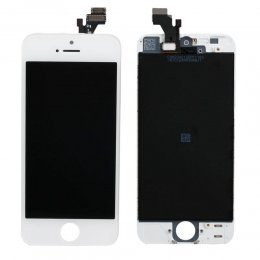 iPhone 5 original skärm lcd display vit