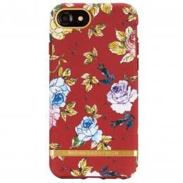 Richmond & Finch iPhone SE 2 skal iPhone 6/6S/7/8 rödblommig red floral
