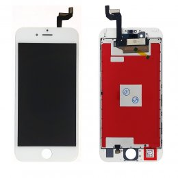 Apple iPhone 6S skärm display lcd med vit glas