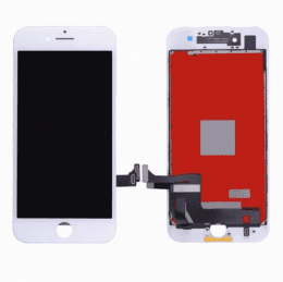 iPhone 8 plus original skärm lcd display glas vit