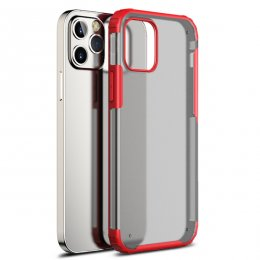 iPhone 12 Pro TPU PC Protective Skal Rött