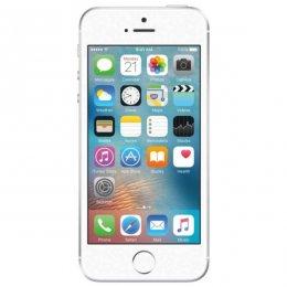 Begagnad iPhone SE 64GB Silver Olåst i bra skick Klass B.