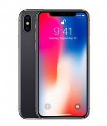 begagnad billig iphone X 64gb svart MQAC2QN/A