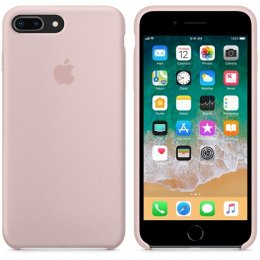 Original Apple Silikonskal till iPhone 8 Plus och 7 Plus Rosa Sand MMT02ZM/A