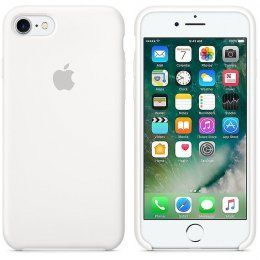 Apple iPhone 8/SE 2 Silikon skal original vit