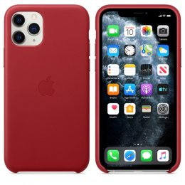 Original apple iphone 11 pro läderskal rod red leather product