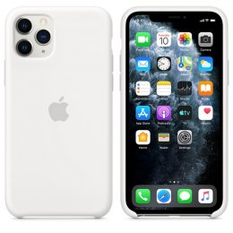 Apple iPhone 11 Pro Silikonskal Original Vit
