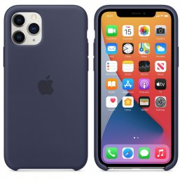 Apple iPhone 11 Pro Silikonskal Original - Midnattsblå