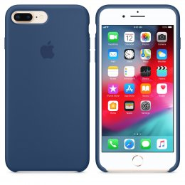 Apple iPhone 8 Plus / 7 Plus Silikonskal Original - Blue Cobalt