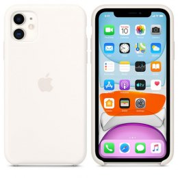 Apple Original Skal iPhone 11 Silikon Vit