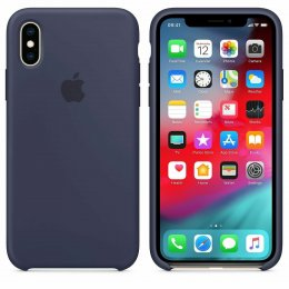 Apple iPhone X/XS Original Silikonskal Blå