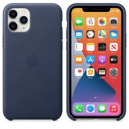 originsl skal Apple iPhone 11 Pro Läderskal blå