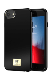 Richmond & Finch Skal för iPhone 6/6S/7/8/SE 2 - Black Tar