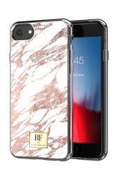 Rose Gold Marble Skal för iPhone SE 2/6/6S/7/8