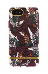 Richmond & Finch skal för iPhone 6/6S/7/8/SE 2, Floral Zebra
