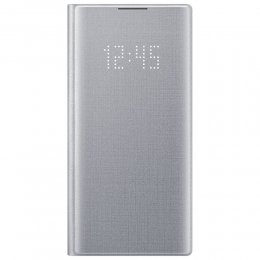 Samsung Galaxy Note 10 led view cover silver