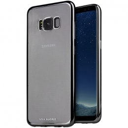 Samsung Galaxy S8 Plus skal transparent svart