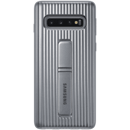 Samsung Galaxy S10 Protective Standing Cover Silver EF-RG973CSEGWW