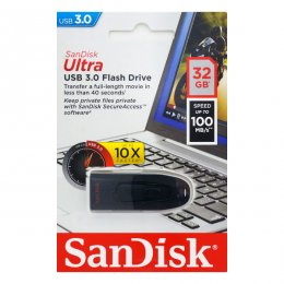 SanDisk Ultra, USB 3.0-minne, 32GB