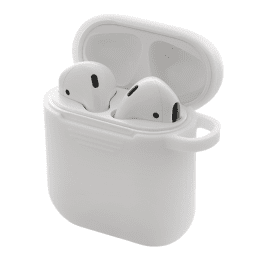 Apple Airpods Silikonskal Vit