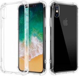 iPhone X/XS Shockproof Skal 0.3mm TPU Transparent