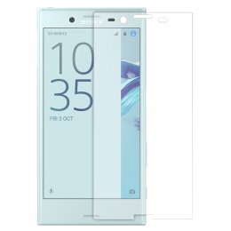 Sony Xperia X Compact 9h hardat glas skarmskydd