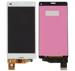 Sony Xperia Z3 Compact LCD Display & Touch Skärm Vit Original