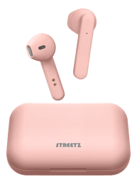 Streetz True Wireless Stereo hörlurar med laddningsetui - Matt Rosa