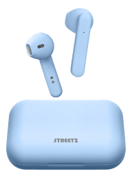 True Wireless Stereo hörlurar med laddningsetui, semi-in-ear, BT 5, mattblå